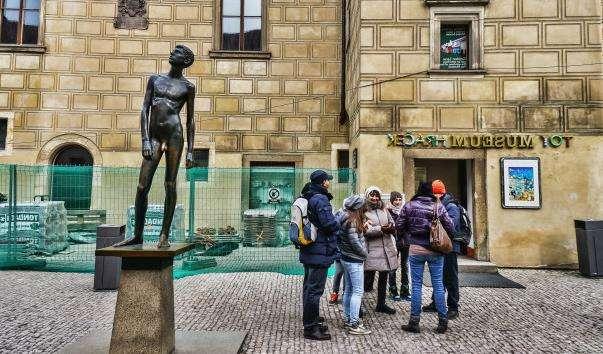 Скульптура Юність у Празі