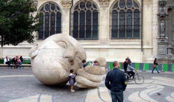Скульптура Слухач