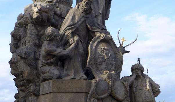 Скульптурна група «Святий Іоанн Чеська, Святий Іоанн де Мата і Святий Фелікс де Валуа»