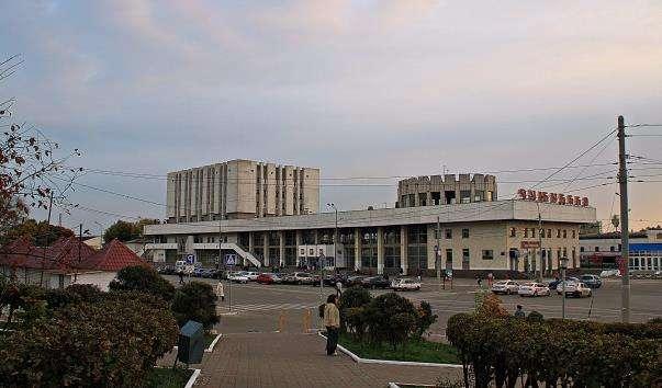 Залізничний вокзал. Автовокзал.