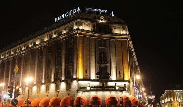 Будівля готелю «Асторія» в Санкт-Петербурзі