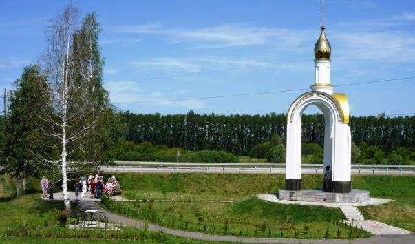 Каплиця на місці загибелі Михайла Євдокимова