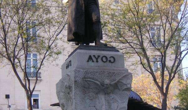Памятник Гойї