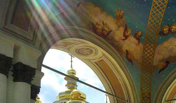 Джерело в Михайлівському соборі