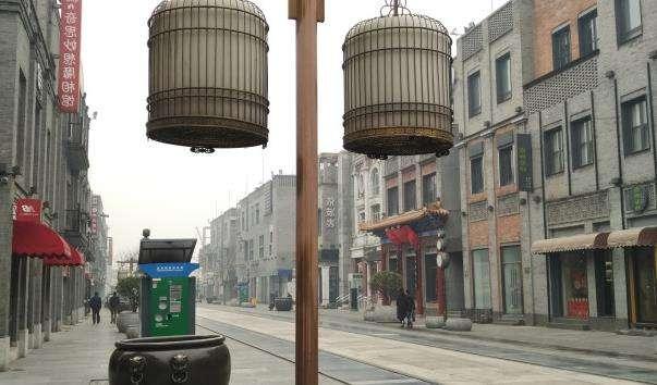 Традиційна пішохідна вулиця Цяньмень