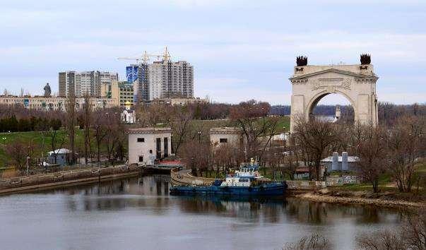 1-ий шлюз Волго-Донського каналу
