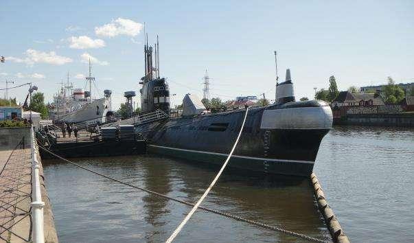 Підводний човен «Б-413» у Калінінграді