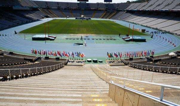 Олімпійський стадіон в Барселоні