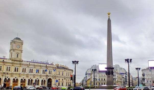 Обеліск «Місту-герою Ленінграда»