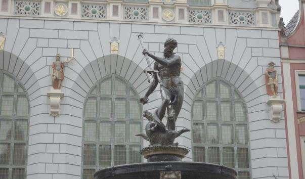 Фонтан Нептуна у Гданську