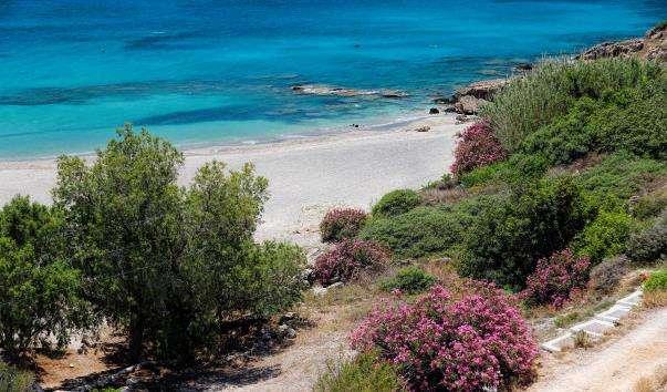 Пляж Франгокастелло