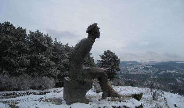 Памятник М. Ю. Лєрмонтовим у Курортному парку