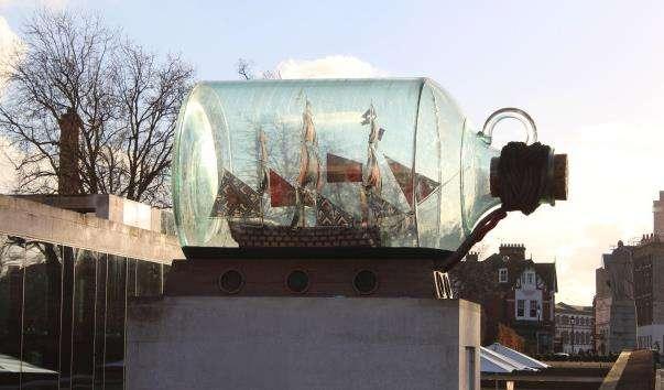 Памятник-макет корабля «Вікторі»