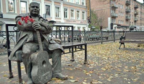 Памятник Михайлу Кругу