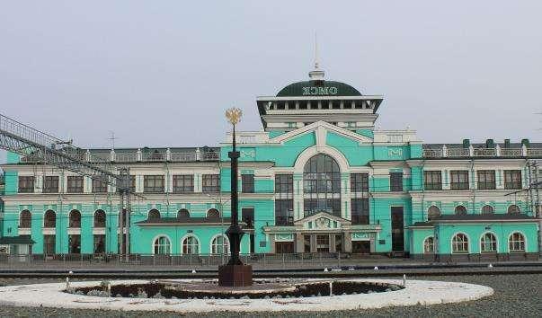 Залізничний вокзал в Омську