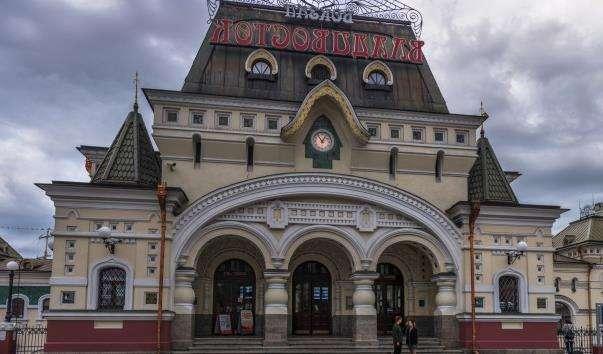 Залізничний вокзал Владивостока