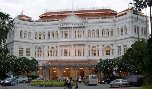 Будівля готелю Раффлз