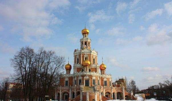 Церква покрови Пресвятої Богородиці у Філях