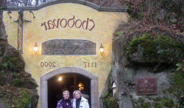 Ресторан у скелі Chodovar