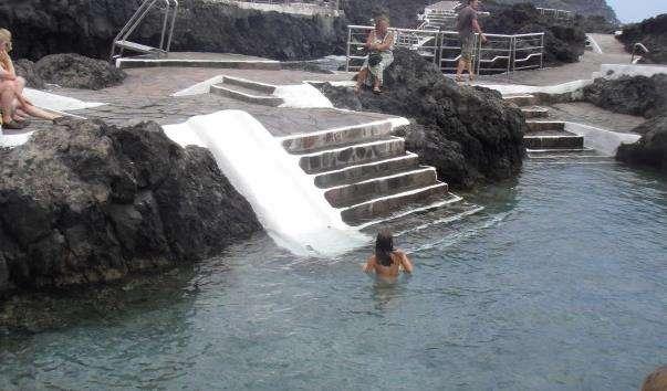 Лавові басейни в Гарачико