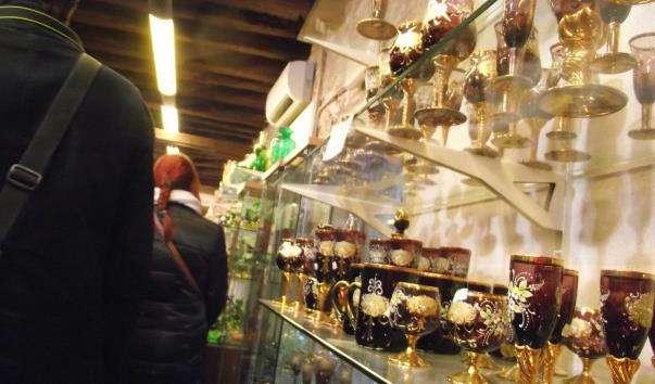 Скляна фабрика і магазин Маззега