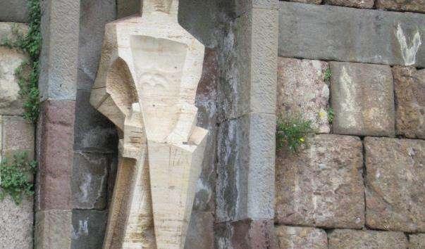 Скульптура святого Георгія