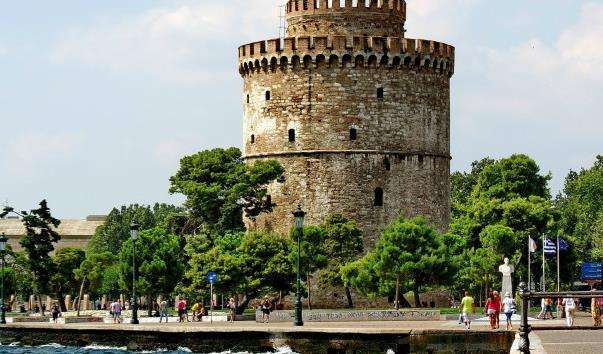 Стара променаду в Салоніках