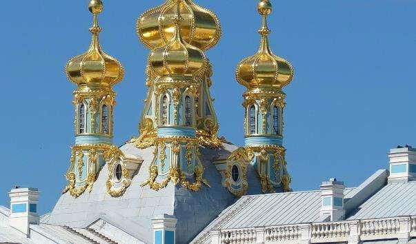 Церква вознесіння Христового в Катерининському палаці Царського Села
