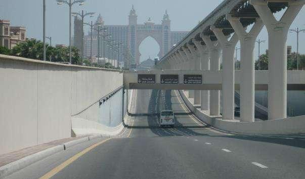 Дорога Palm Jumeirah