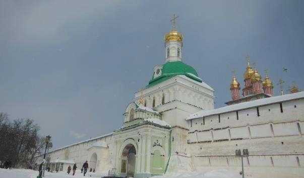 Царські врата Троїцького монастиря