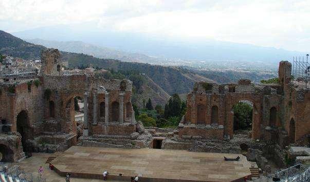 Грецький театр Таорміни