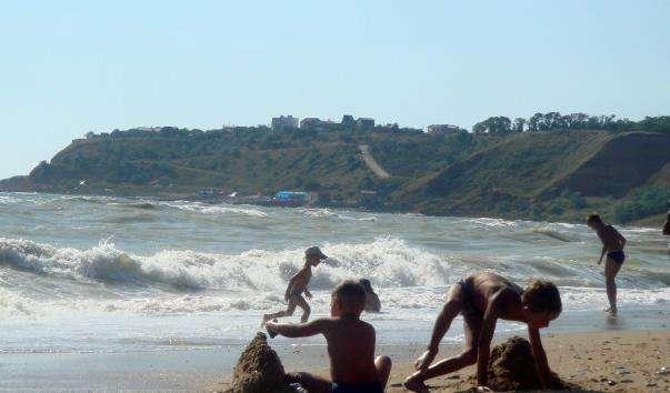 Пляж Учкуївка