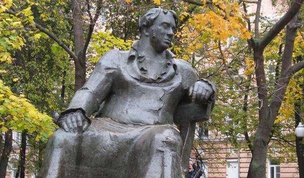 Памятник І. А. Крилову на Патріарших Ставках