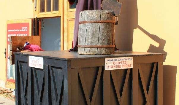 Музей тортур у Петропавлівській фортеці