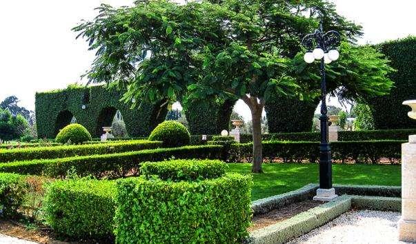 Бахайські сади в Акко