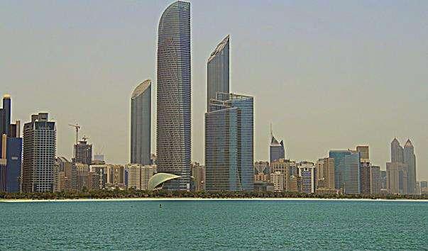 Міський пляж Абу Дабі