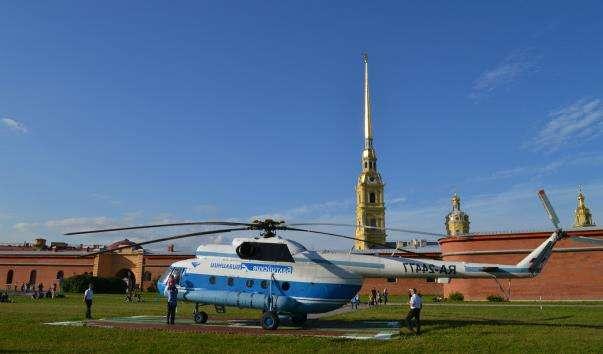 Вертолітний майданчик у Петропавлівській фортеці