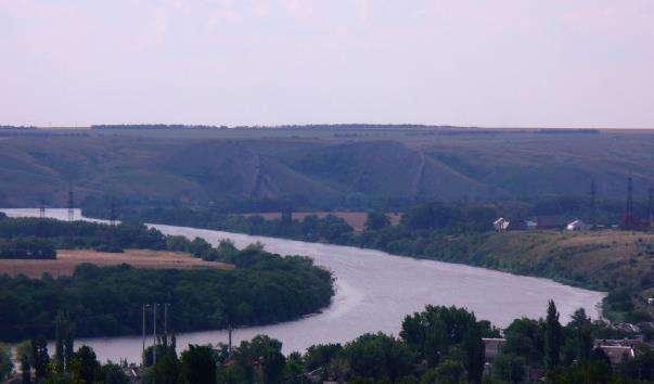 Річка Сіверський Донець