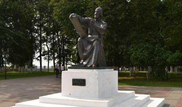 Памятник Андрію Рубльову