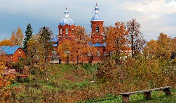 Храм Різдва Пресвятої Богородиці в Рождествено