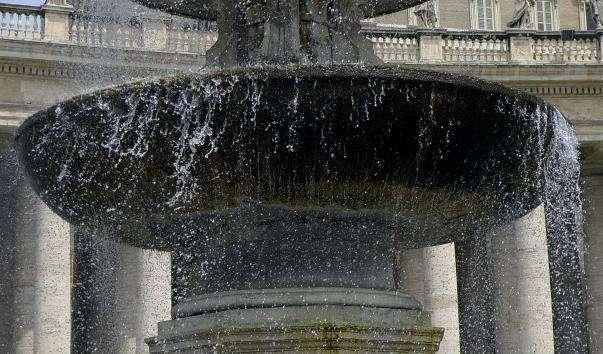 Фонтани на площі Святого Петра