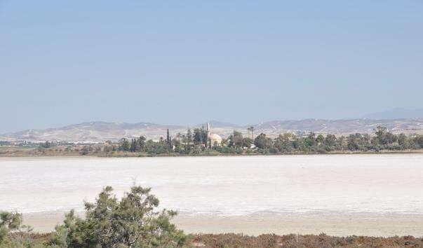 Солоне озеро Аліки