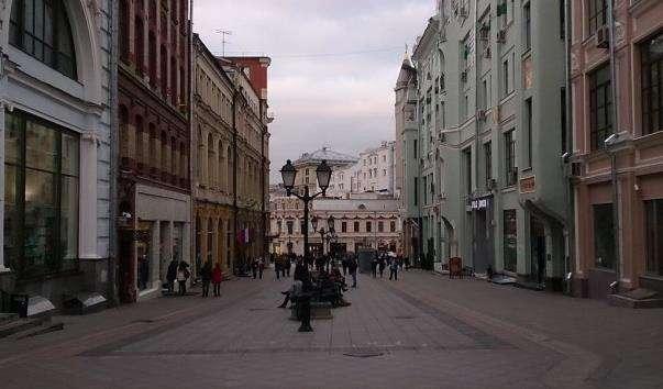 Вулиця Кузнецький Міст