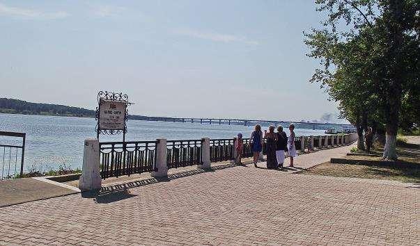 Набережна Волги в Костромі