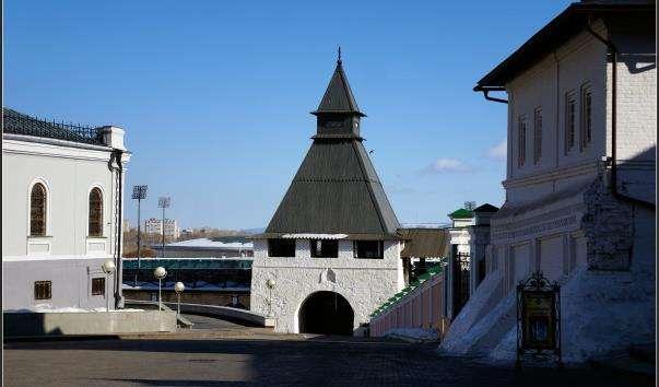 Преображенська вежа Казанського кремля