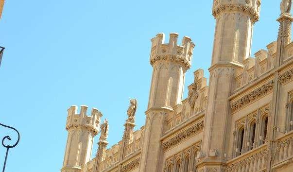 Корт - будівлю ратуші міста Пальма