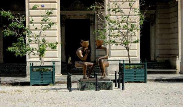 Скульптура Розмова