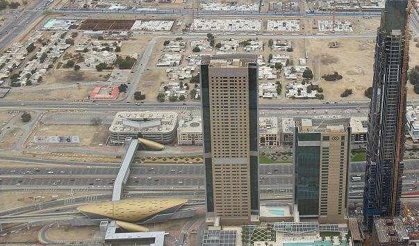 Станція метро Burj Khalifa - Dubai Mall