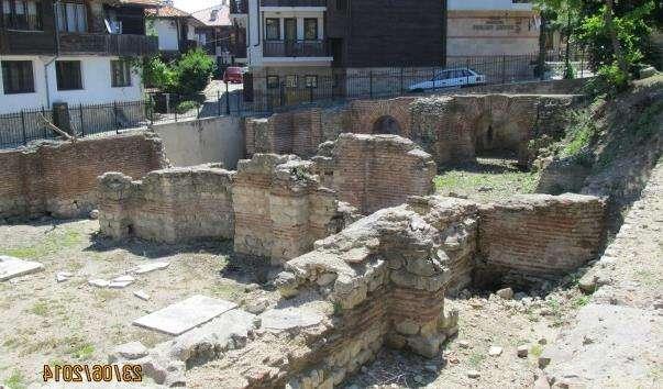 Візантійські терми в Несебрі