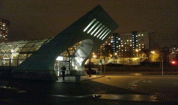 Станція метро Строгіно